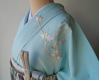 Le kimono bleu ...