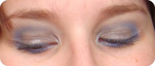 - La grissaille extérieur sur mes yeux -