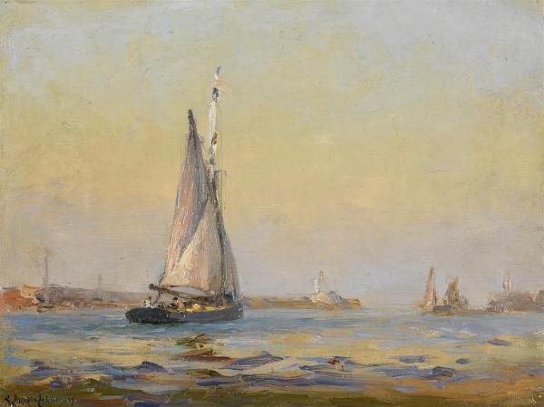25 Avril 1873 :  naissance de Georges Ricard-Cordingley