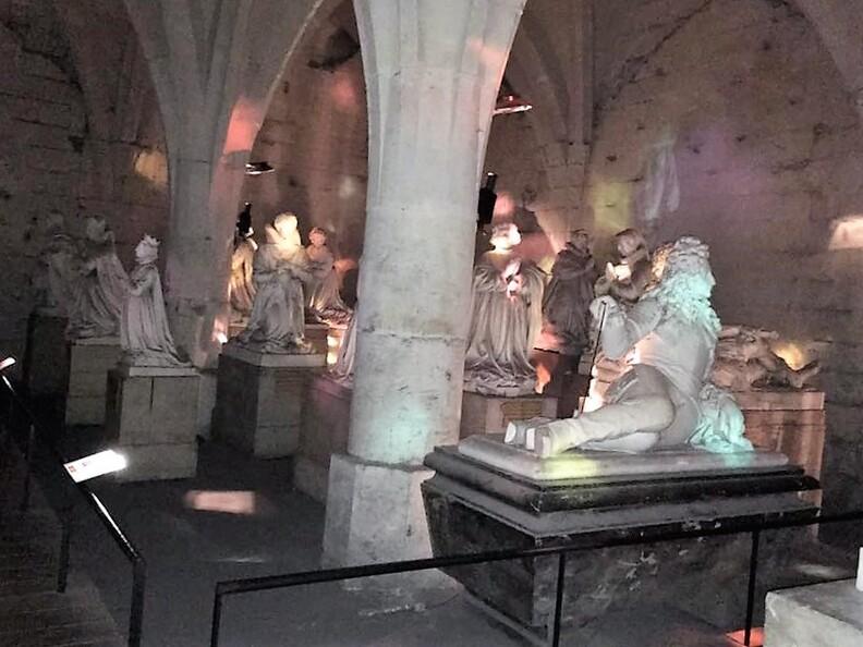L'intérieur à Pierrefonds.