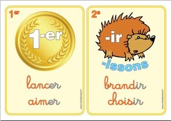 RSEEG : Groupes de verbes