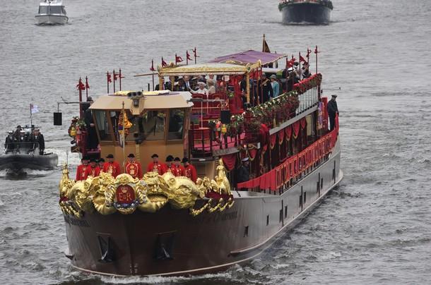 Le bateau royal