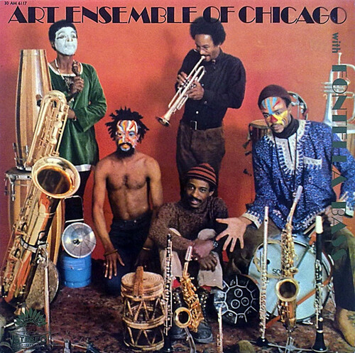 """Art Ensemble Of Chicago With Fontella Bass : Album """" Art Ensemble Of Chicago With Fontella Bass """" America Records 30 AM 6117 [ FR ]"""
