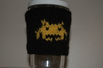 coffee cozy space invaders