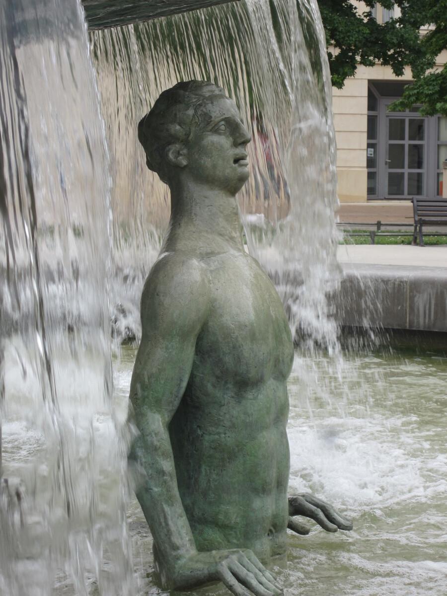 Quartier Antigone à Montpellier.
