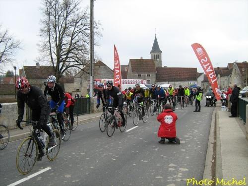 Reprise  de la saison du club cyclotouriste de Châtillon sur Seine en 2012...