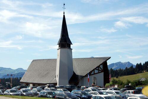L'église des Saisies