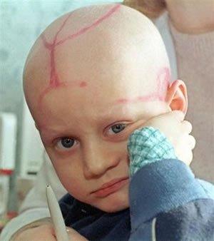 Une petite pensée pour les enfants cancereux ♥