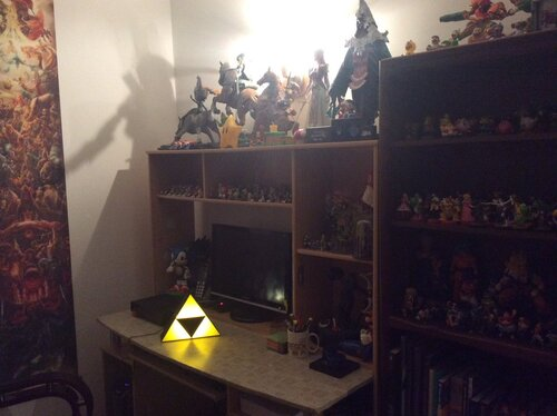 Lampe zelda collector reçu