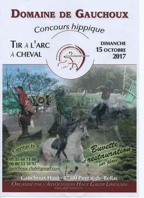 15 oct- Tir à heval -Peyrat de Bellac