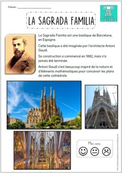 Arts de l'espace - La Sagrada Familia