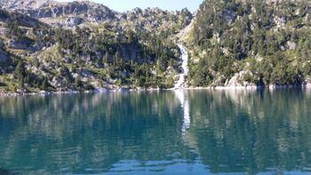 L'alimentation du lac d'era Restanca