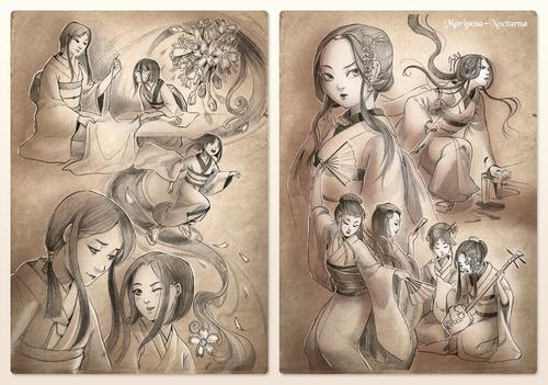 Pre-Order et Pre-Commandes Ouvertes [Sketchbook Katana of Gion]