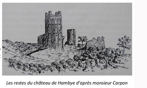 LES REMPARTS D'HAMBYE (Manche)