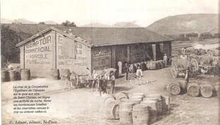 Cébazan,première coopérative viticole- L'Egalitaire