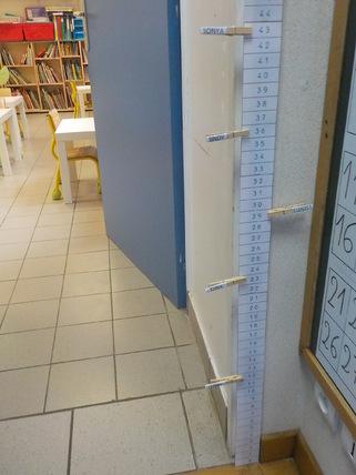 bande numérique montessori verticale