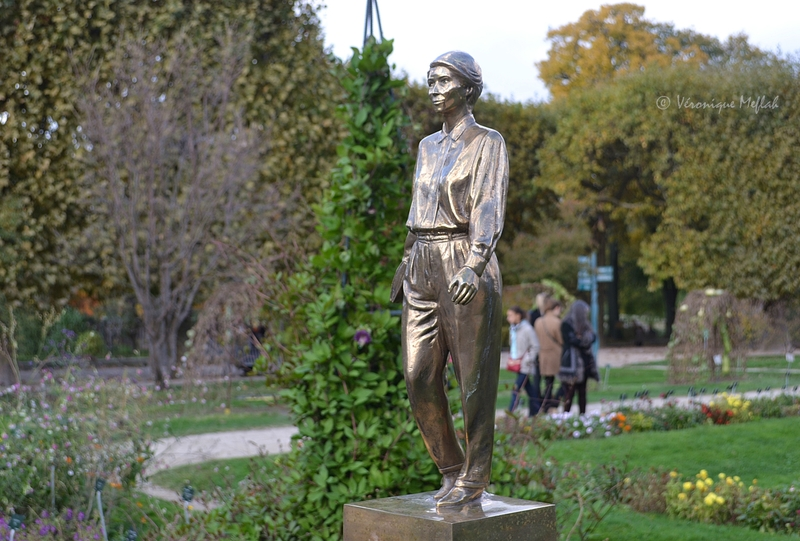 Jardin des Plantes : FIAC 2015 : Rosa Luxemburg de Nicolas Milhé