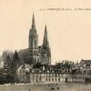 chartres place et cathédrale