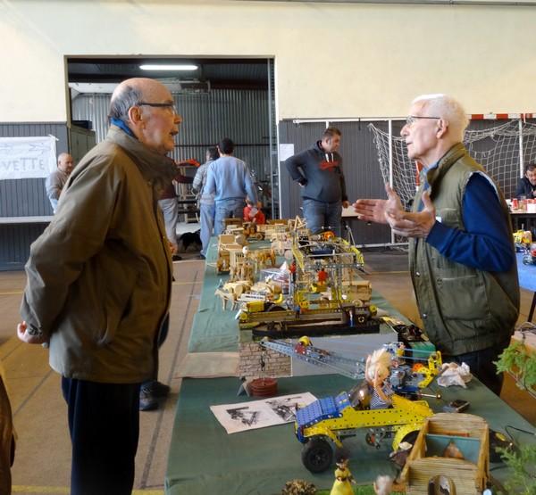 Une grande exposition de modélisme et maquettes a eu lieu à Châtillon sur Seine...