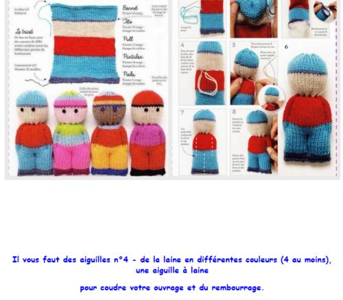 Du tricot pour les vacances