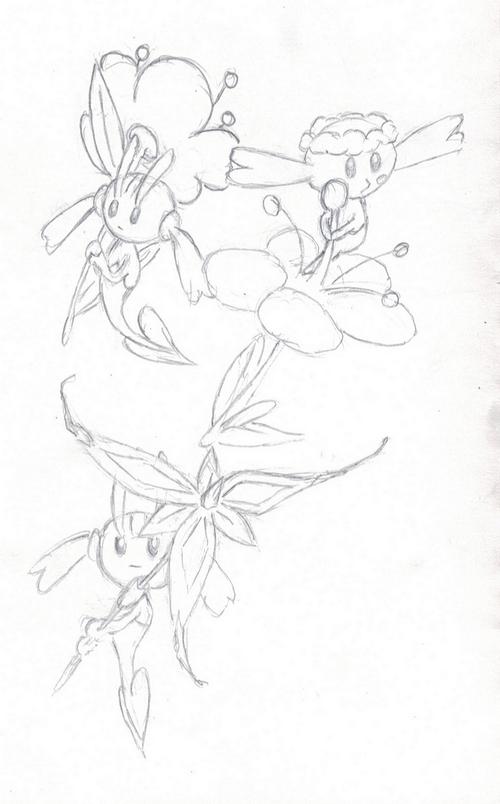 Quelques pokemons au crayon