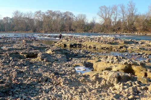 La Garonne en janvier 201!