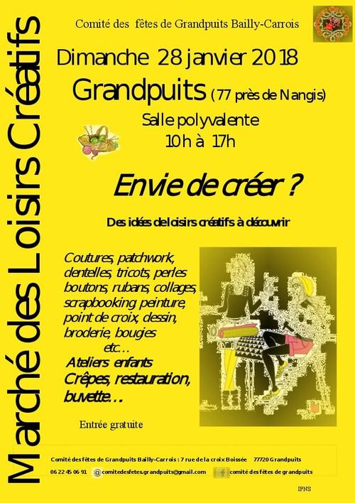 Grandpuits (77720) près de Nangis (28 janvier)