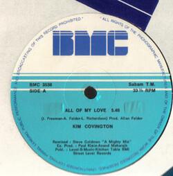 Kim Covington - All Of My Love