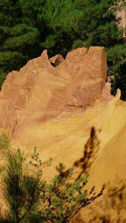 Ocres et village de Roussillon
