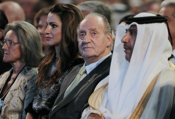 Juan Carlos en Jordanie