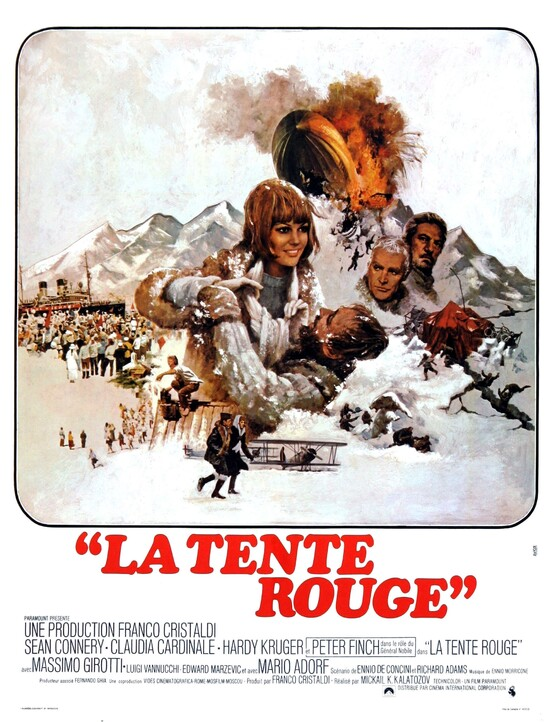 LA TENTE ROUGE ( THE RED TENT)- SEAN CONNERY BOX OFFICE 1971