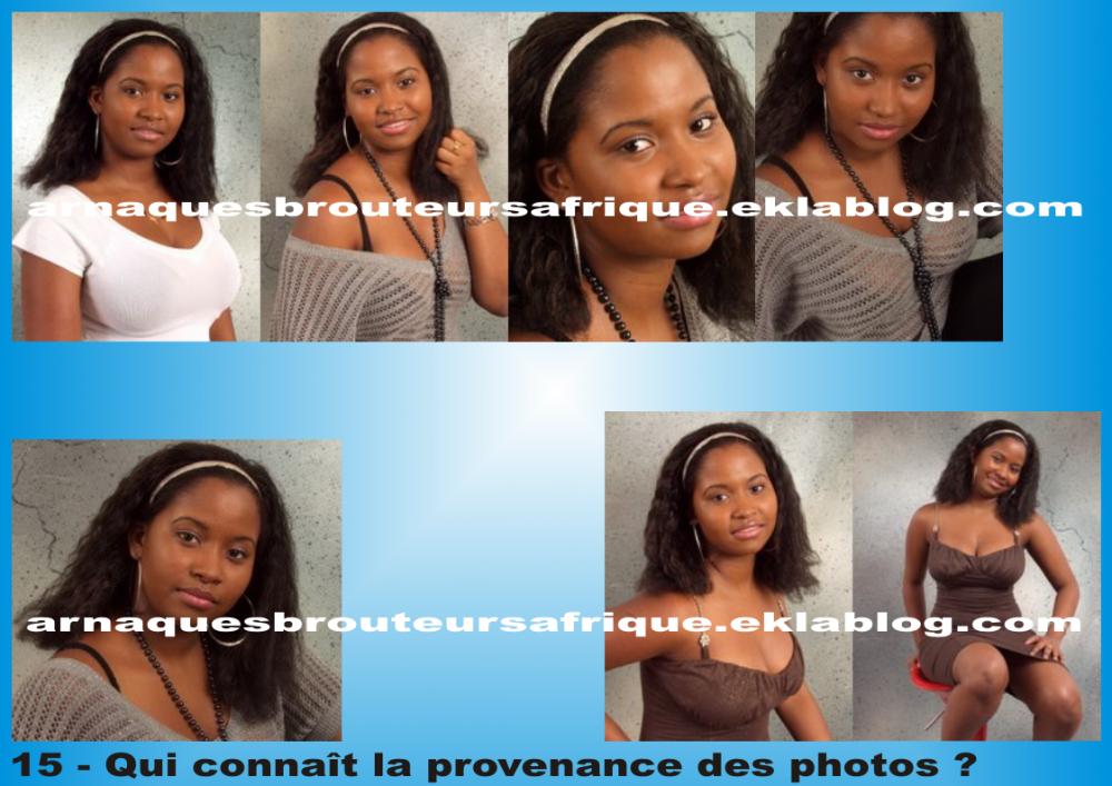 Qui connaît 15 - photos volées par des brouteurs ivoiriens pour arnaquer
