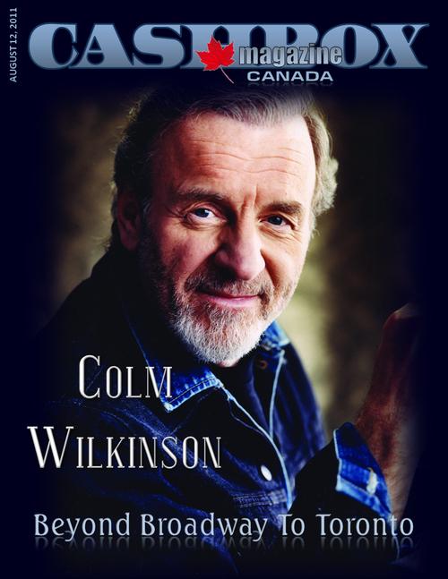 Colm Wilkinson - Couverture magazine Août 2011