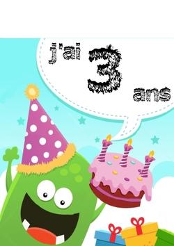 Les anniversaires des petits monstres