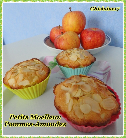 Petits moelleux pommes-amandes