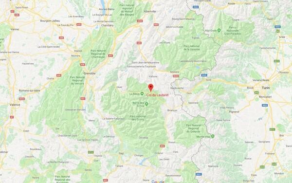 Le col du Lautaret et ses environs.