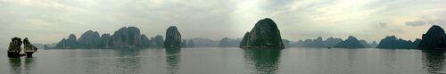 Les merveilles de la nature, la baie d'Halong