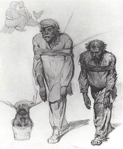 Repin 2 /   1871-les hâleurs de la volga 1
