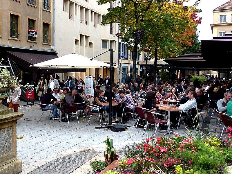 Metz douceur d 39 automne autour de la f te d 39 octobre for Centre du sablon piscine