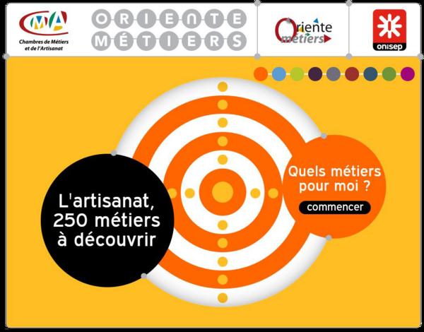 L'artisanat, 250 métiers à découvrir - www.oriente-metiers.org