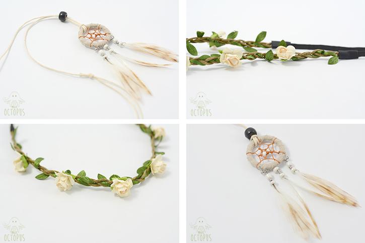 Pretty Fantaisie : Fleurs & Dreamcatcher (partenariat)