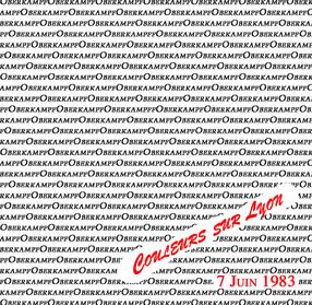 Live : Oberkampf - West - Side club Lyon - 7 juin 1983