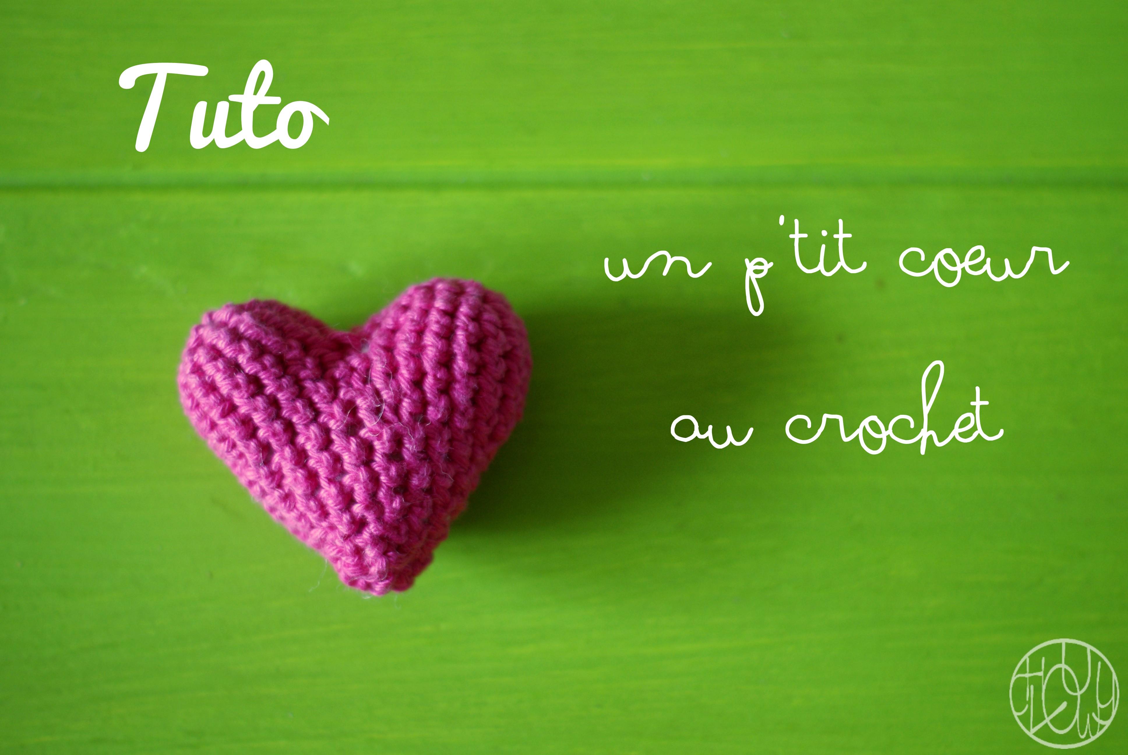 Tutoriel Un Coeur Au Crochet Dans Ma Petite Roulotte