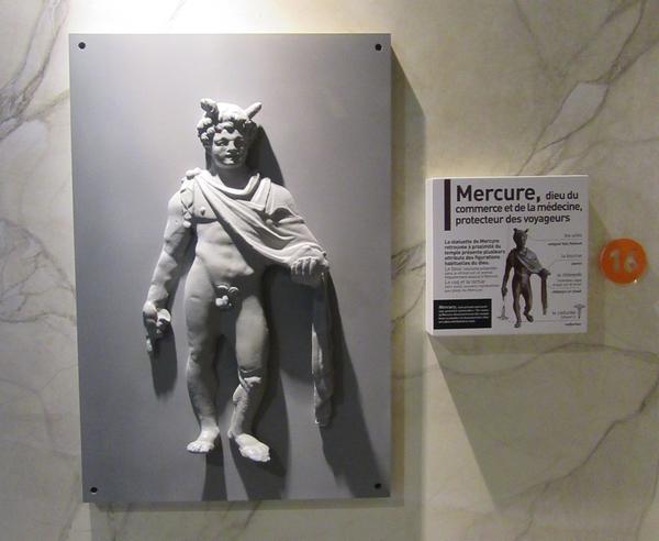 Eric de Laclos a donné une passionnante conférence sur la sculpture au temps des gallo-romains, au Musée du Pays Châtillonnais-Trésor de Vix