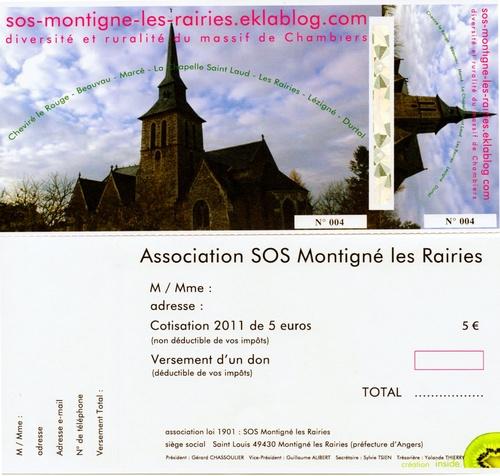 Bulletin d'adhésion
