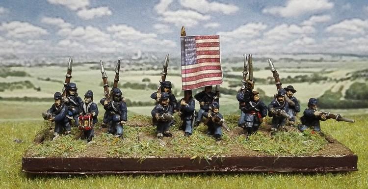"""Derbières figurines du projet """"Gettysburg 1863"""""""