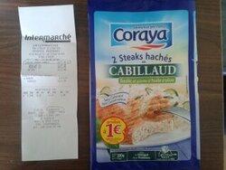 2 Steks Coraya pour 1€