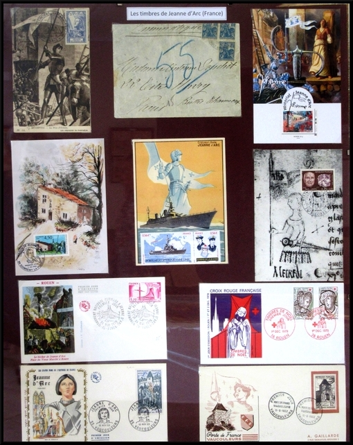 """A Essarois, Jenry Camus a présenté une superbe exposition sur """"Jeanne insolite"""""""
