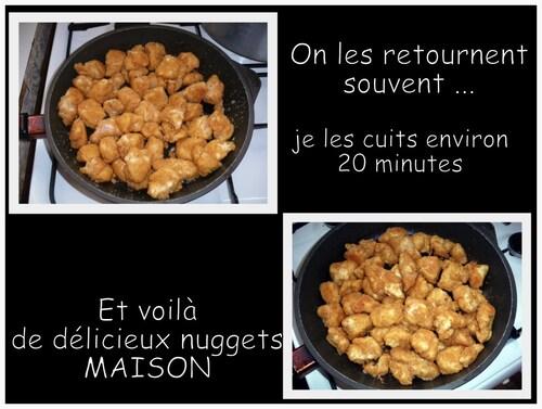 NUGGETS DE POULET ou poisson ... MAISON !!!
