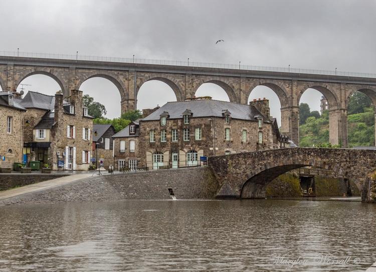 Bretagne : Dinan, Le Pont-Vieux